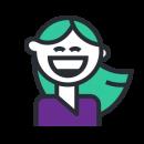 icon-smile-girl